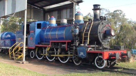 Loco at Ravenshoe.