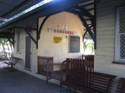 Historic Oonoonba station at the Townsville MLC park.