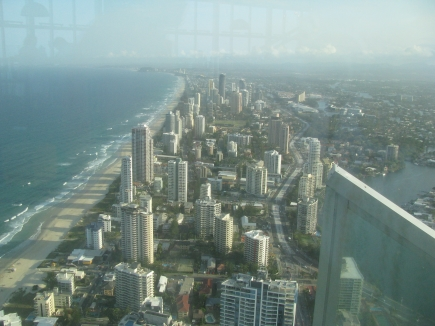 View from Q1 tower.