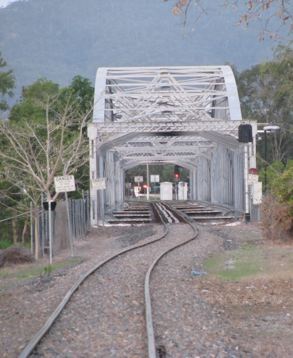 Railway bridge in Rockhampton.